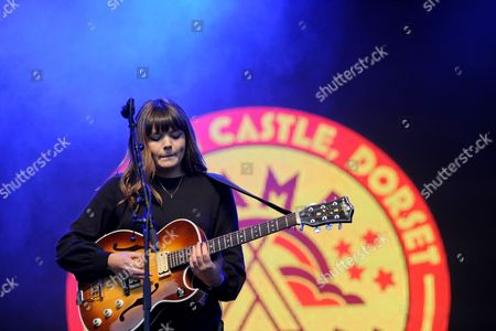 Alice Jemima performs on the Castle Stage