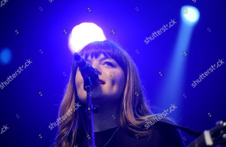 Stock Picture of Alice Jemima performs on the Castle Stage