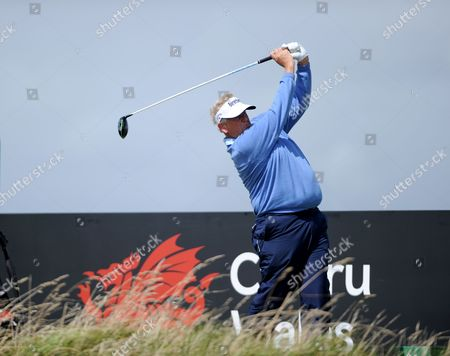 Editorial image of British Senior Open, Round 1, Royal Porthcawl Golf Club, Mid Glamorgan, Wales, UK - 27 Jul 2017