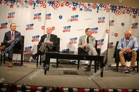 Paul Begala, Robert Shrum, David Frum and James Carville