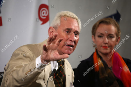 Roger Stone and Xeni Jardin