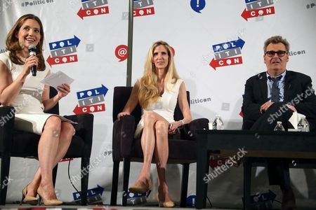 Evan Ryan, Ann Coulter and Greg Proops