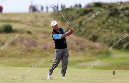 Editorial image of The Senior Open - Royal Porthcawl, Wales - 30 Jul 2017