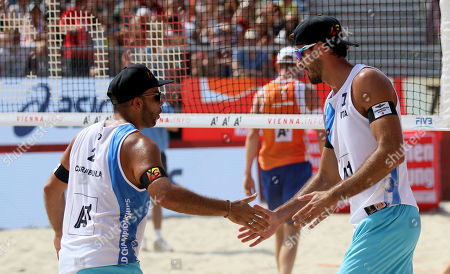 Editorial picture of Beach Volleyball World Championships, Vienna, Austria - 30 Jul 2017