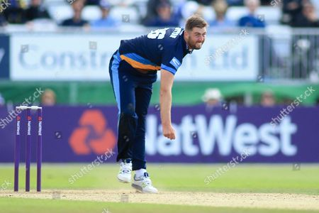 Ben Cotton of Derbyshire during the Natwest T20 Blast North Group match between Derbyshire County Cricket Club and Leicestershire County Cricket Club at the 3aaa County Ground, Derby