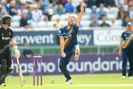 Editorial picture of Derbyshire County Cricket Club v Leicestershire County Cricket Club, Natwest T20 Blast North Group - 30 Jul 2017