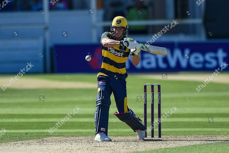 Editorial picture of Kent County Cricket Club v Glamorgan County Cricket Club, NatWest T20 Blast South Group - 30 Jul 2017