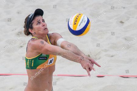 Editorial image of Beach Volleyball World Championships in Vienna, Austria - 30 Jul 2017