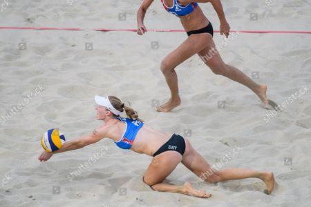 Editorial picture of Beach Volleyball World Championships in Vienna, Austria - 30 Jul 2017