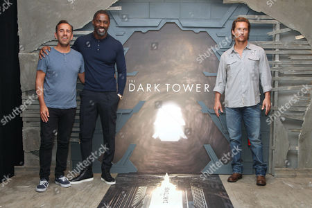 Nikolaj Arcel (Director), Idris Elba and Matthew McConaughey