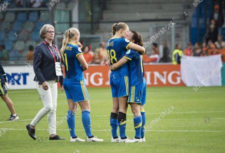 Jessica Samuelsson, Fridolina Rolfö