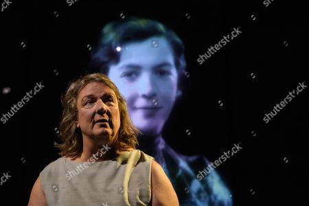 Editorial photo of 'EVE' play, Traverse Theatre, Edinburgh Festival Fringe, Scotland, UK - 30 Jul 2017