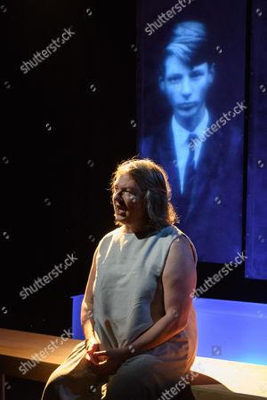 Editorial image of 'EVE' play, Traverse Theatre, Edinburgh Festival Fringe, Scotland, UK - 30 Jul 2017