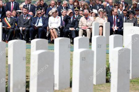 Editorial photo of Centenary of Passchendaele Commemorations, Passendale, Belgium - 31 Jul 2017