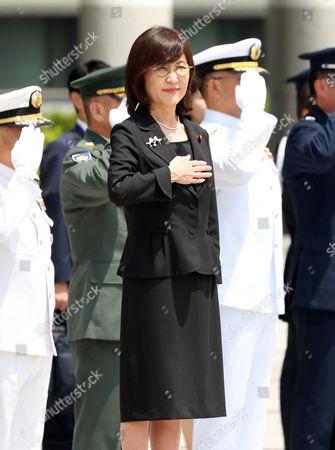 Japanese Defense Minister Tomomi Inada