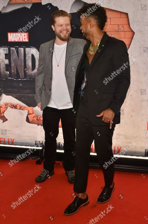 Stock Picture of Elden Henson and Eka Darville
