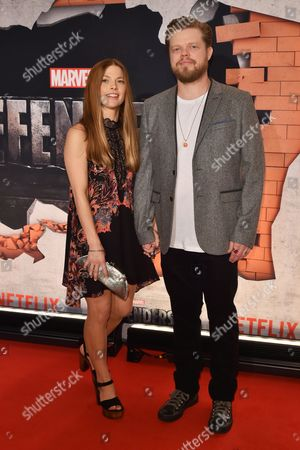 Editorial photo of 'Marvel's The Defenders' TV show premiere, Arrivals, New York, USA - 31 Jul 2017