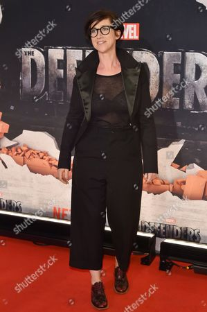 Editorial picture of 'Marvel's The Defenders' TV show premiere, Arrivals, New York, USA - 31 Jul 2017