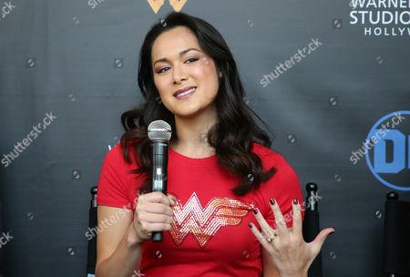 Editorial picture of 'Wonder Woman' exhibit unveiled at Warner Bros. Studios, Los Angeles, USA - 31 Jul 2017