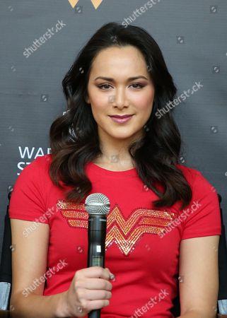Editorial image of 'Wonder Woman' exhibit unveiled at Warner Bros. Studios, Los Angeles, USA - 31 Jul 2017