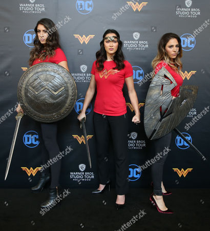 Editorial picture of 'Wonder Woman' exhibit unveiled at Warner Bros. Studios, Los Angeles, USA - 31 Jul 2017