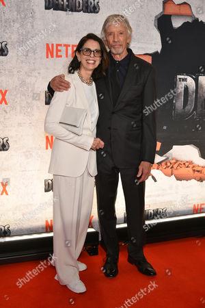 Carol Schwartz and Scott Glenn