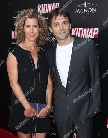 Sarah Webster and Luis Prieto