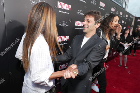 Producer/Actor Halle Berry, Director Luis Prieto