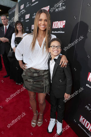 Producer/Actor Halle Berry, Sage Correa