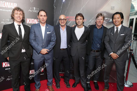 Executive Producer Knate Lee, Producer Joey Tufaro, David Dinerstein, President, Aviron Pictures, Director Luis Prieto, Producer Erik Howsam, Producer Gregory Chou