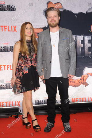 Stock Picture of Elden Henson and Kira Sternbach