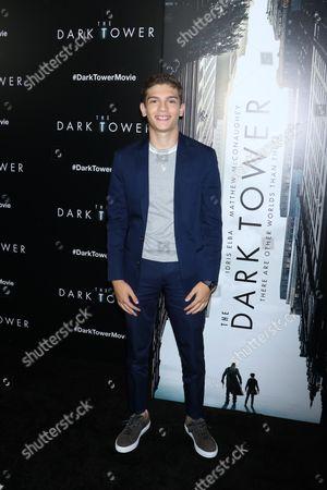 Editorial photo of 'The Dark Tower' film premiere, Arrivals, New York, USA - 31 Jul 2017