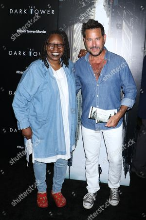 Whoopi Goldberg and Ricky Paull Goldin
