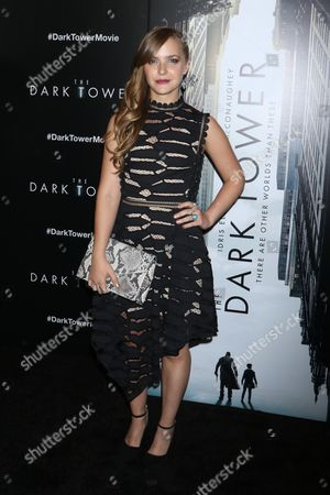 Editorial image of 'The Dark Tower' film premiere, Arrivals, New York, USA - 31 Jul 2017