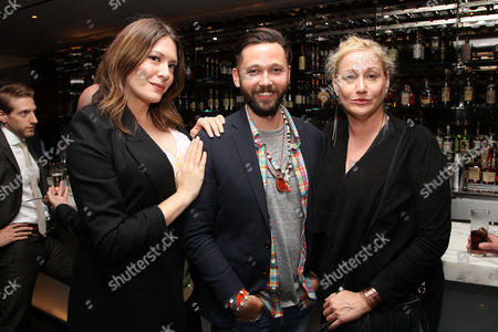 Michelle Collins, Chris Benz and Amy Sacco