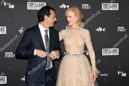 Nicole Kidman and Emile Sherman