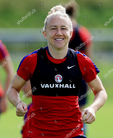 Stock Image of Laura Bassett of England during training