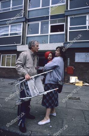 Stock Image of Geoff Hinsliff (as Don Brennan) and Joy Blakeman (as Marie Ramsden)