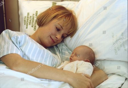 Stock Picture of Sally Dynevor (as Sally Webster), Emma Collinge (as Rosie Webster)