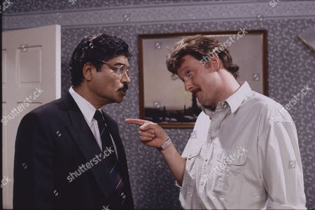 Marc Zuber (as Mr Khan) and Charles Lawson (as Jim McDonald)