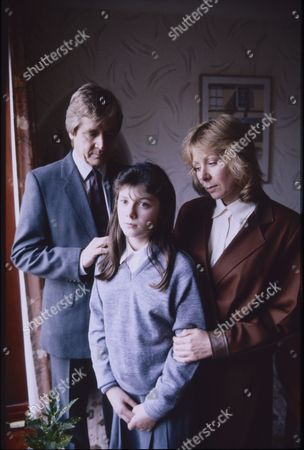 William Roache (as Ken Barlow), Dawn Acton (as Tracy Barlow) and Roberta Kerr (as Wendy Crozier)