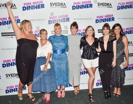 Editorial image of 'Fun Mom Dinner' film premiere, Arrivals, New York, USA - 1 Aug 2017