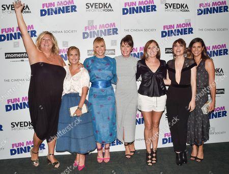 Stock Image of Bridget Everett, Julie Rudd, Toni Collette, Katie Aselton, Molly Shannon, Alethea Jones, Naomi Scott
