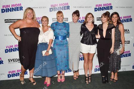 Stock Photo of Bridget Everett, Julie Rudd, Toni Collette, Katie Aselton, Molly Shannon, Alethea Jones, Naomi Scott