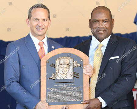 Tim Raines and Jeff Idelson
