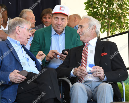 Bud Selig, Johnny Bench and Sandy Koufax