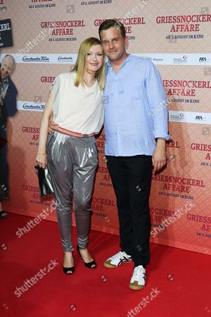 Editorial image of Premiere of the German movie Griessnockerlaffaere, Munich, Germany - 01 Aug 2017