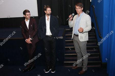 Matthew Budman (Producer), Mark Boal (Writer, Producer) and Hugo Lindgren (Exec. Prod)