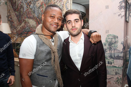Cuba Gooding Jr and Matthew Budman (Producer)