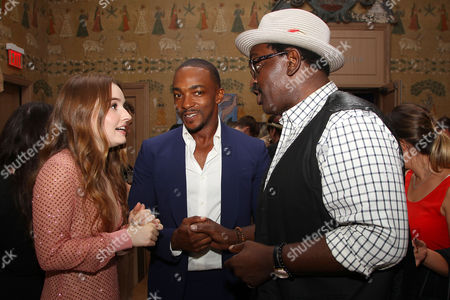 Kaitlyn Dever, Anthony Mackie and Fab 5 Freddy